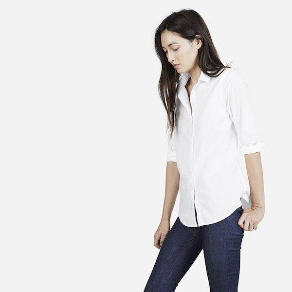 Everlane The Long Sleeve Shirt