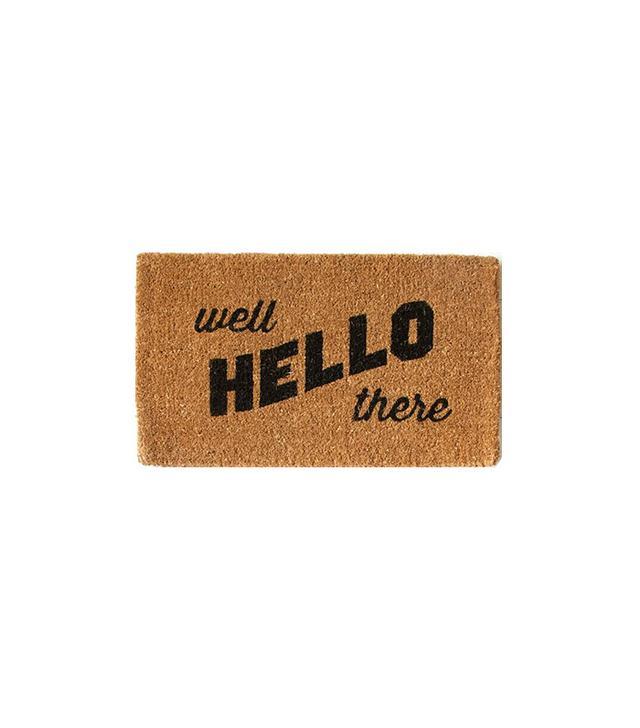 West Elm Coir Doormat