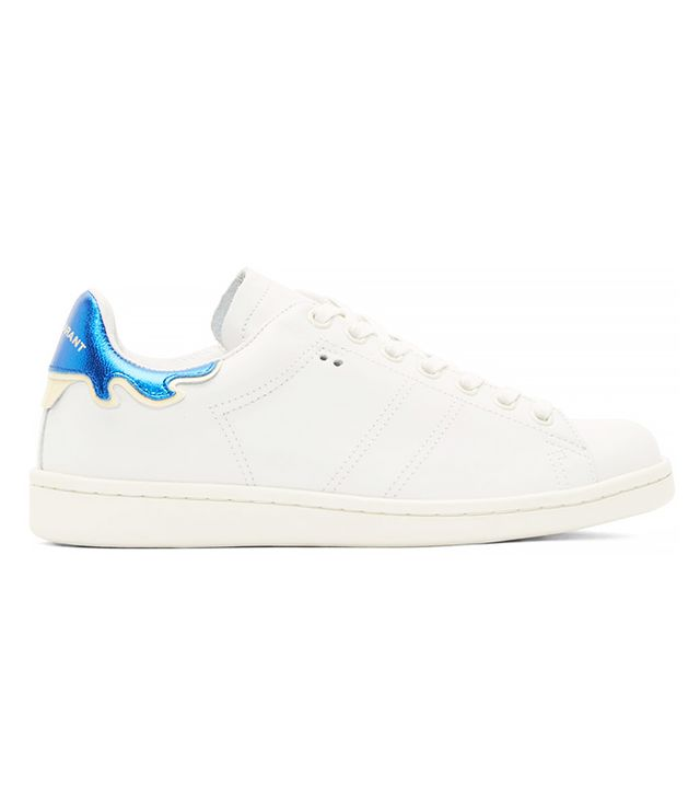 Isabel Marant Bart Sneakers Size 39 White Blue BNIB