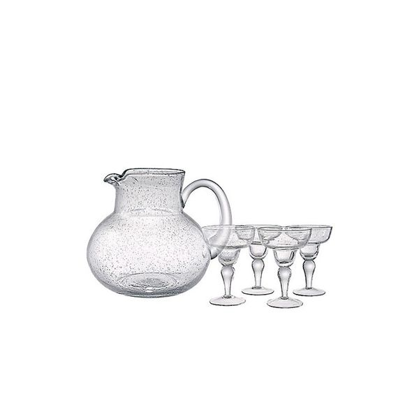 Bed Bath and Beyond Margarita Glass And Pitcher Set