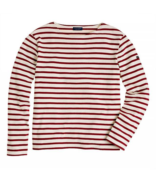 Saint James for J.Crew Meridien II Shirt Ecru/Persan
