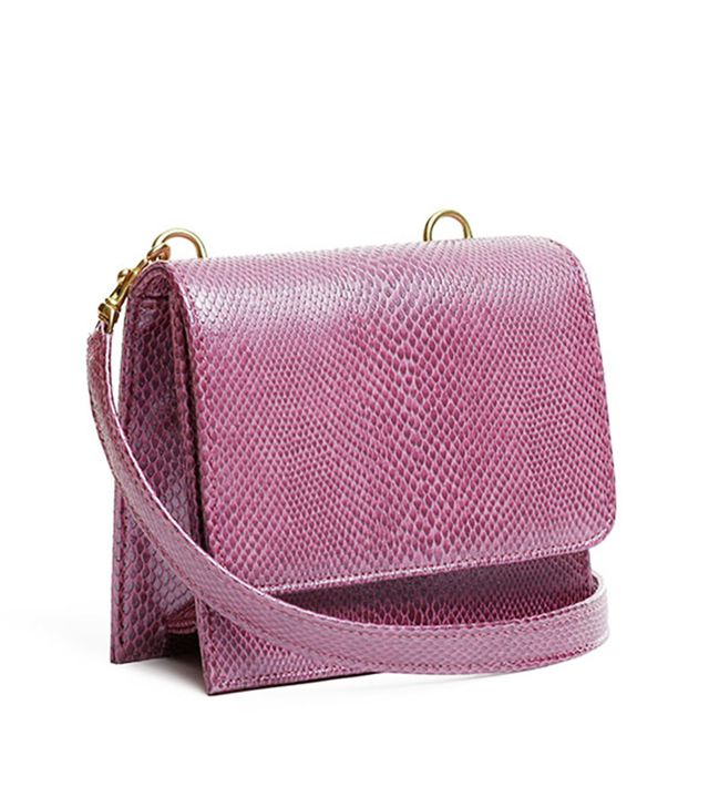 Meila Pia Mini Box Bag in Violet