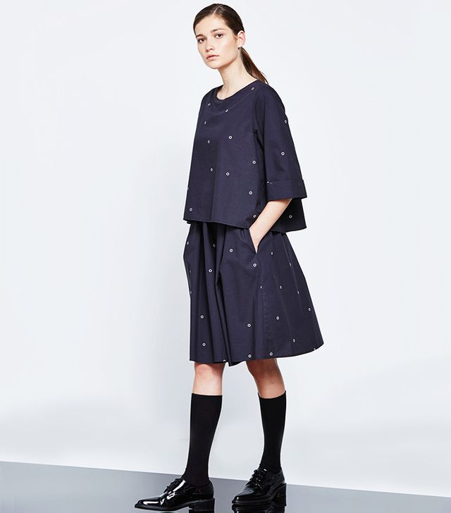 Kowtow Evolution Dress in Going Circles Print