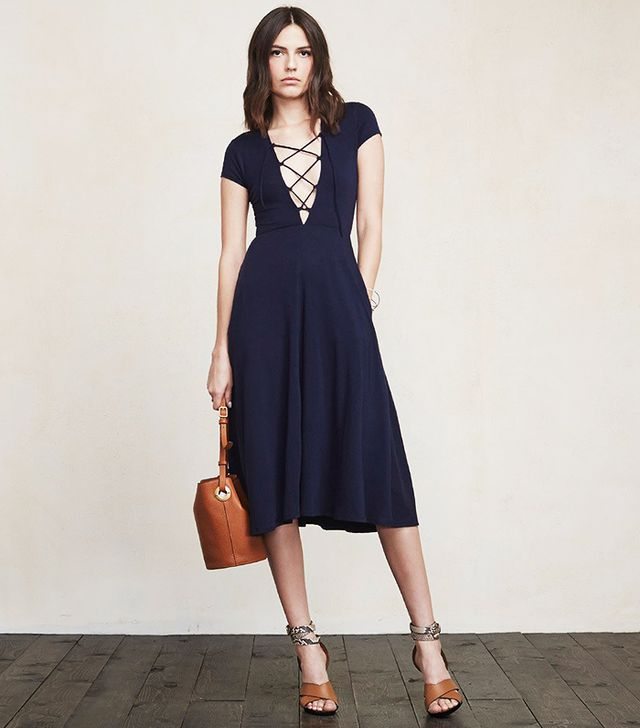 The Reformation Sandy Dress