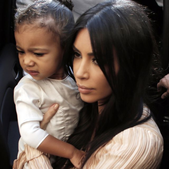 Kim Kardashian Shared the Adorable Thing North West Does Every Night