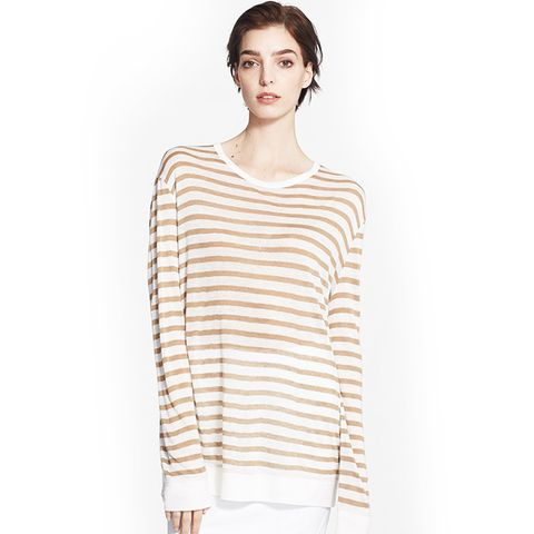 Lightweight Stripe Sweater