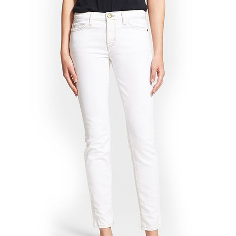 'The Ankle Skinny' Print Stretch Jeans