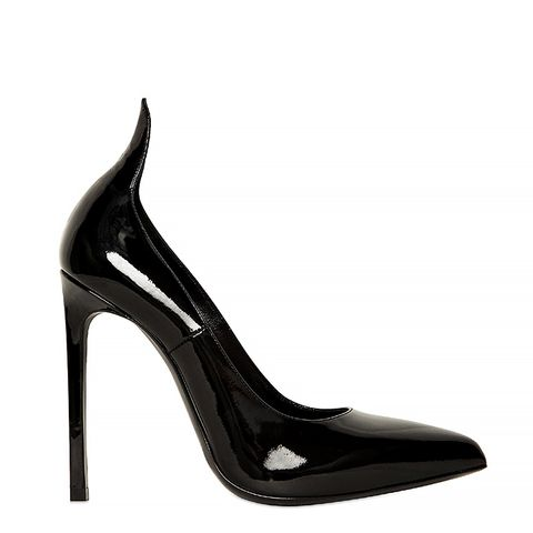 Thorn Pointed Patent Pumps