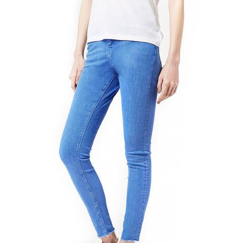 Moto Bright Blue Jamie Jeans