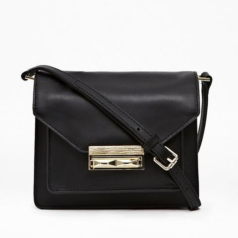 Dayna Leather Crossbody Bag