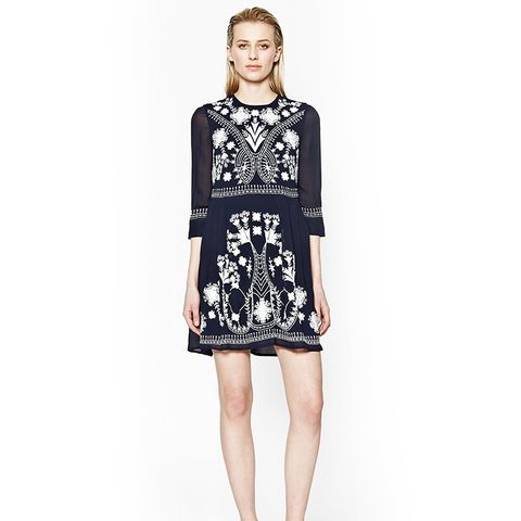 Kiko Stitch Embroidered Dress