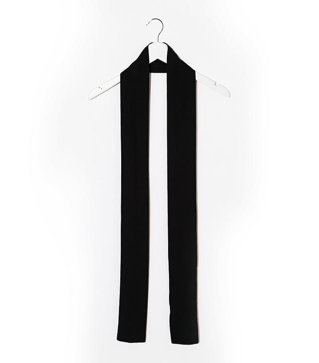 ASOS Long Skinny Scarf In Black