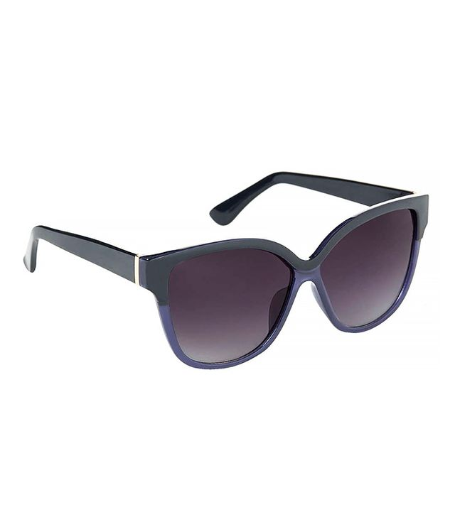 Topshop Contrast Catseye Sunglasses