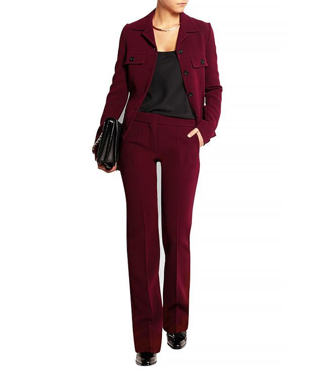 Victoria Beckham Crepe Jacket