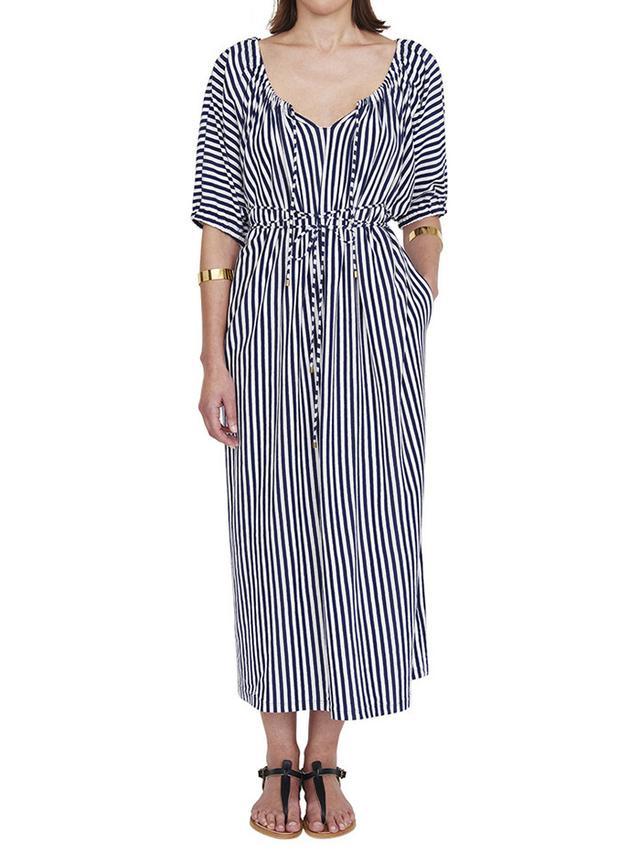 M.D.S. Stripes Lee Tie Dress