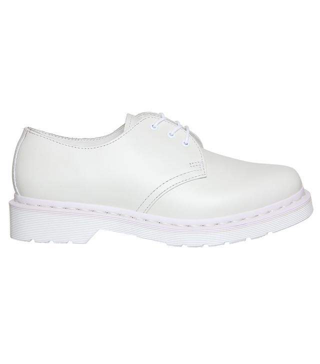 Dr. Martens White Mono Shoe