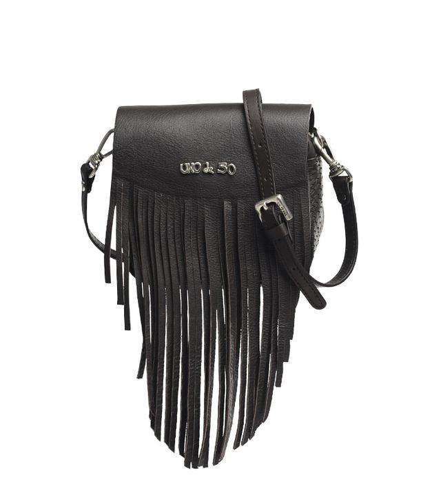 Uno de 50 Paloma Bag in Black