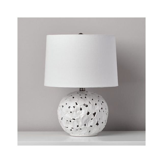 Land of Nod Pressed Petals Table Lamp