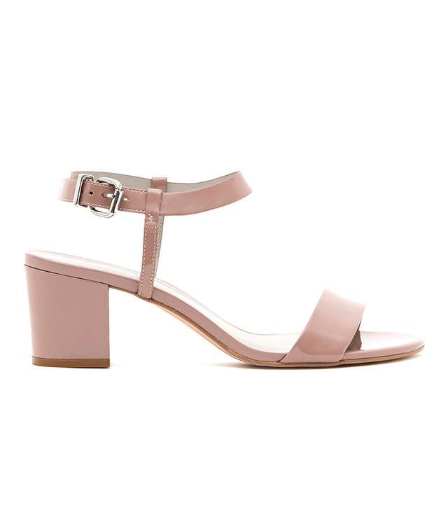 Reiss Vivi Block-Heel Sandals