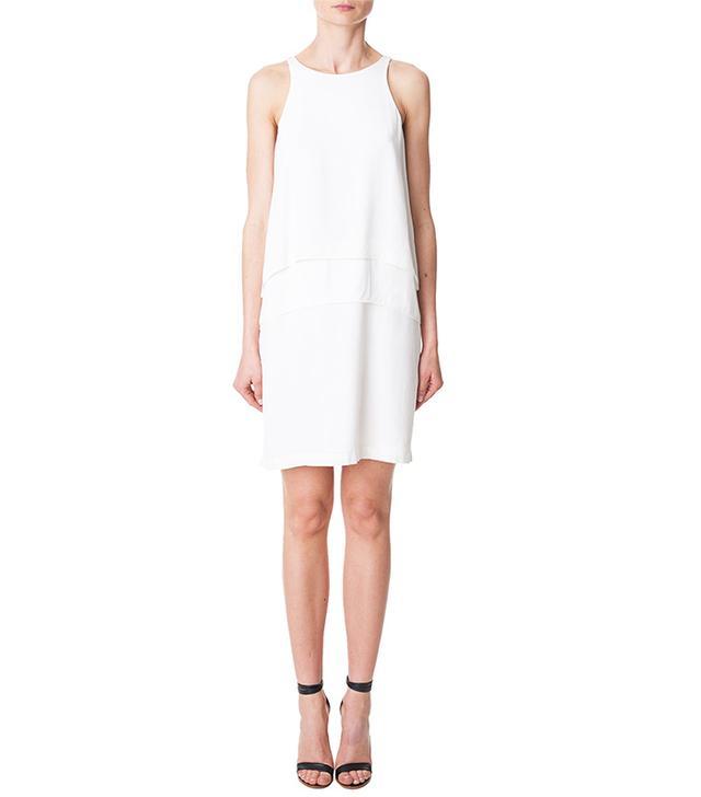 Tibi Silk Halter Dress