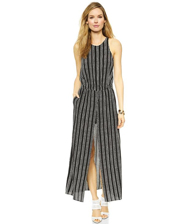 Club Monaco Avina Silk Maxi Dress