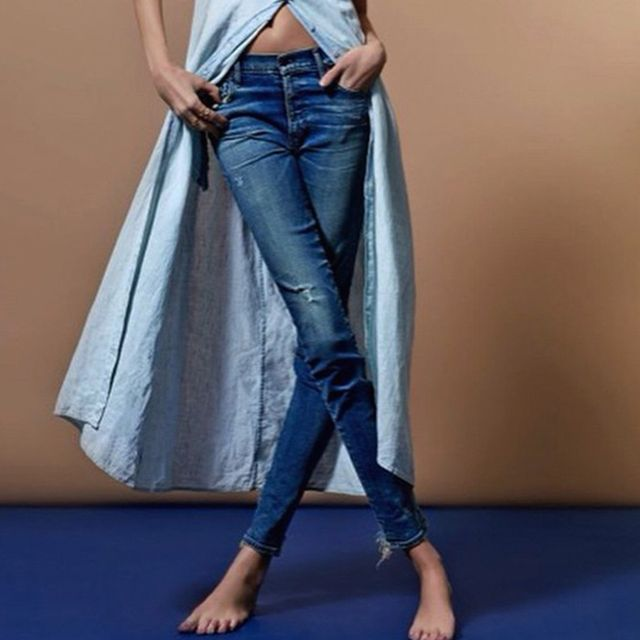 Found: Figure-Friendly Jeans That Actually Hold Their Shape