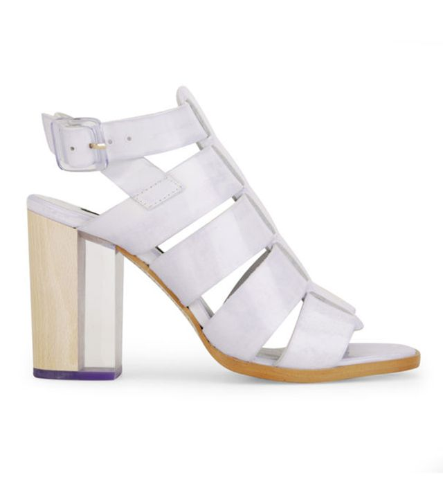 Miista Isabella Heeled Leather Sandals