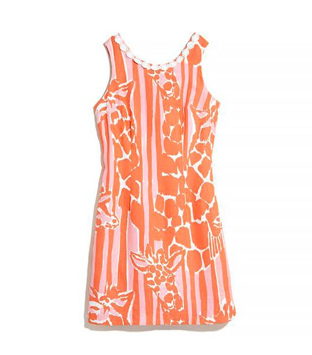 Lily Pulitzer for Target Linen Shift Dress in Giraffeeey
