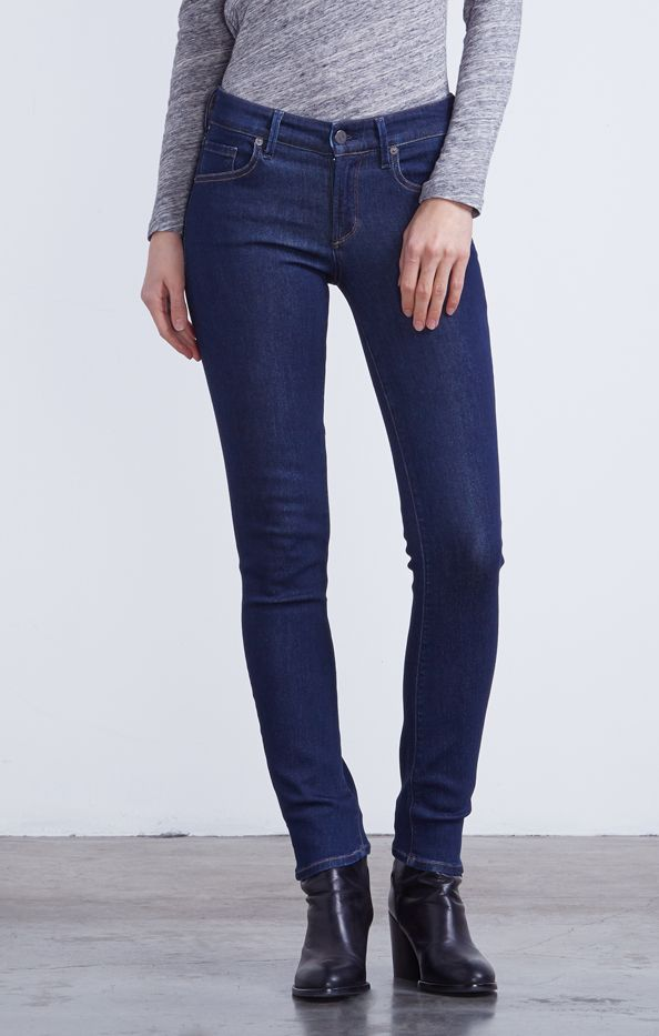 Citizens of Humanity Arielle Mid Rise Slim Jeans