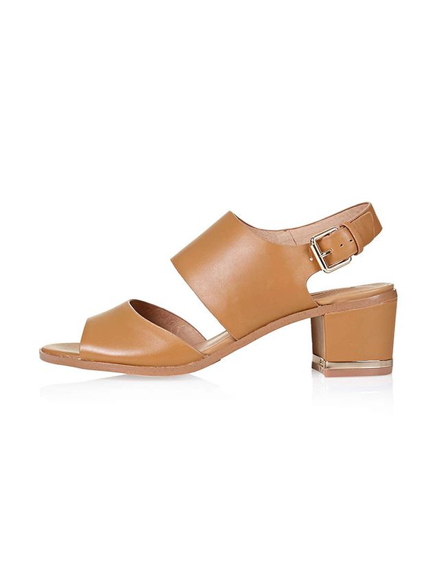 Topshop Niche Two Part Sandals