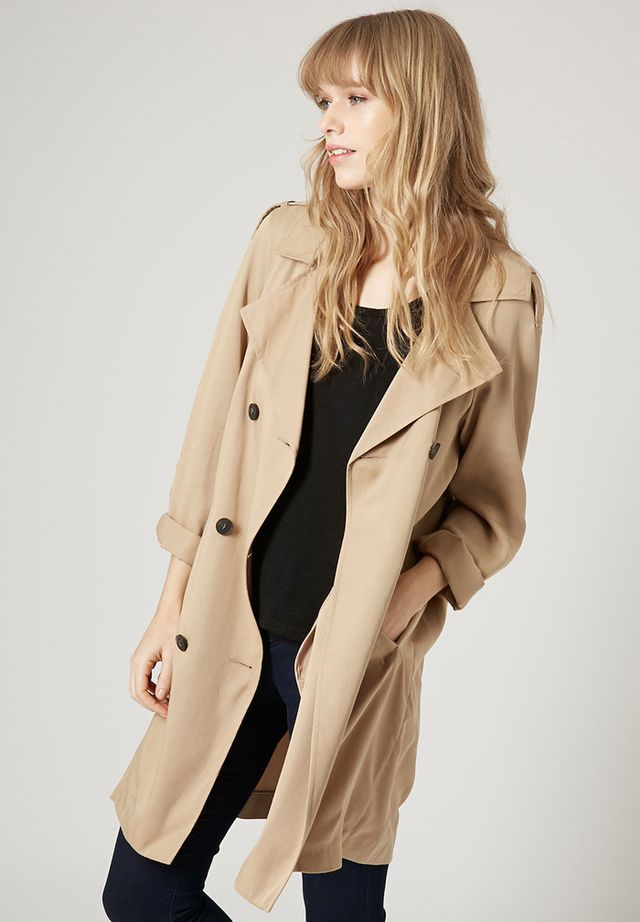 Topshop Split Duster Coat