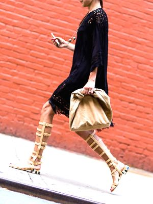 Vogue's Visual History of the Gladiator Sandal in 30 Seconds