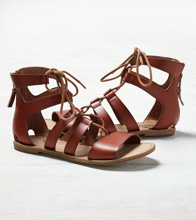 American Eagle Outfitters Lace-Up Gladiator Sandals