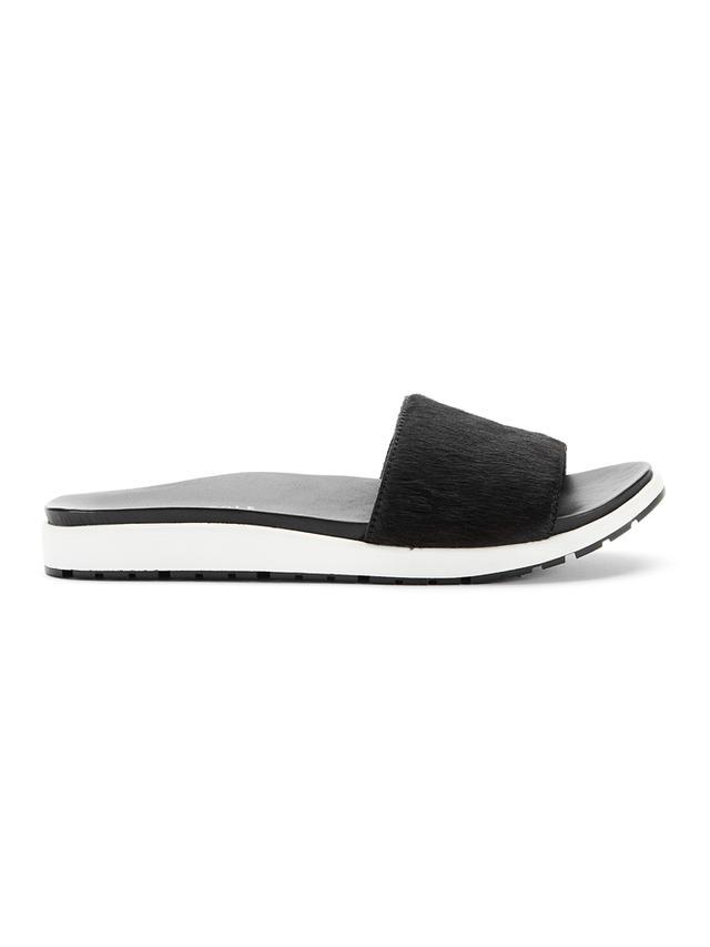 Kenneth Cole Maxon Calf-Hair Sandals