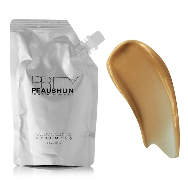 PRTTY PEAUSHUN Skin Tight Body Lotion in Dark