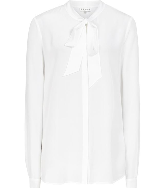 Reiss Julie Pussy Bow Blouse