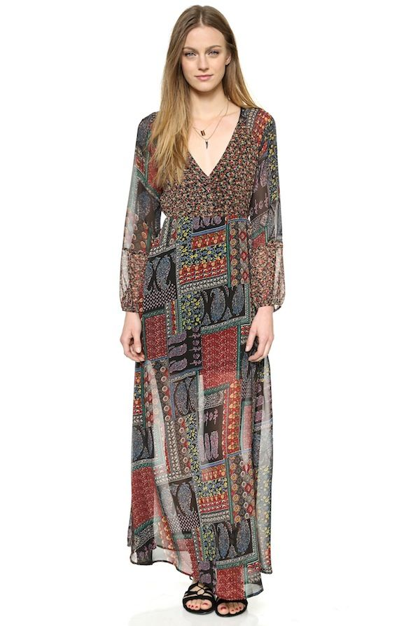 Love Sadie Boho Maxi Dress