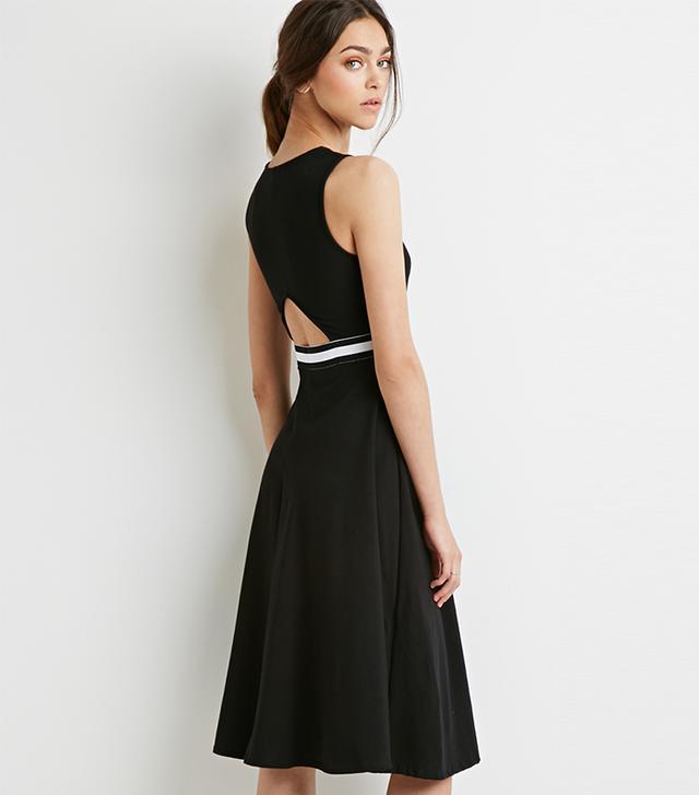 Forever 21 Varsity Stripe A-Line Dress