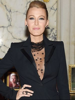 Blake Lively's Latest Sexy Red Carpet Look Is Kind of Stupefying