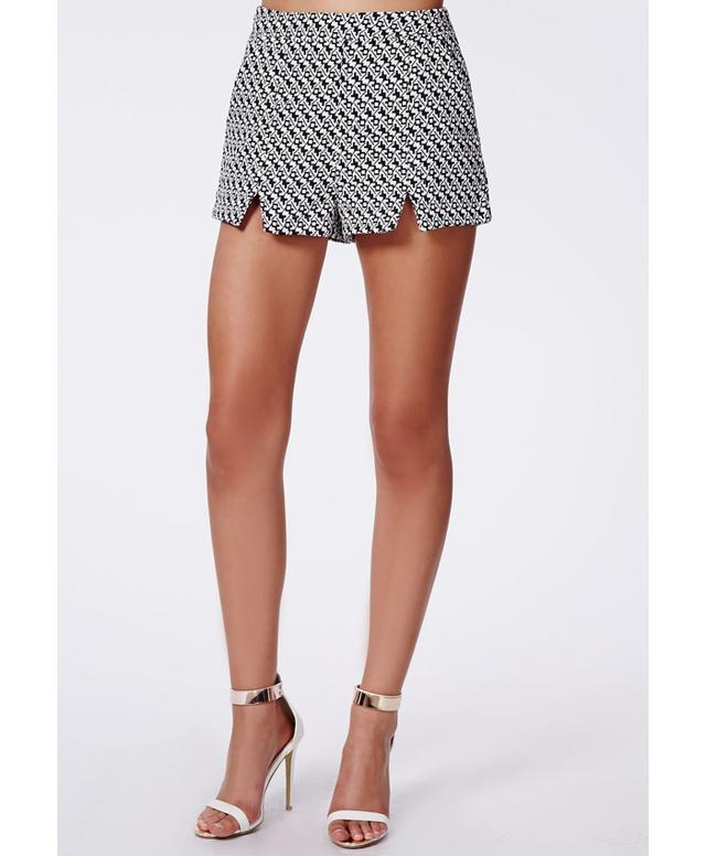 Missguided Dominique Front-Split Shorts