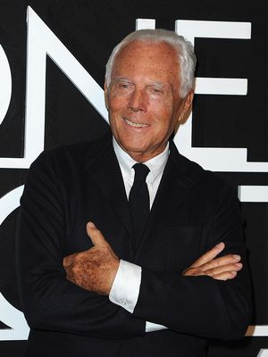 "Giorgio Armani Thinks Gay Men Shouldn't Dress ""Gay"""