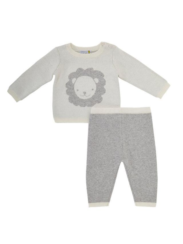 Barneys New York Sweater & Pants Set