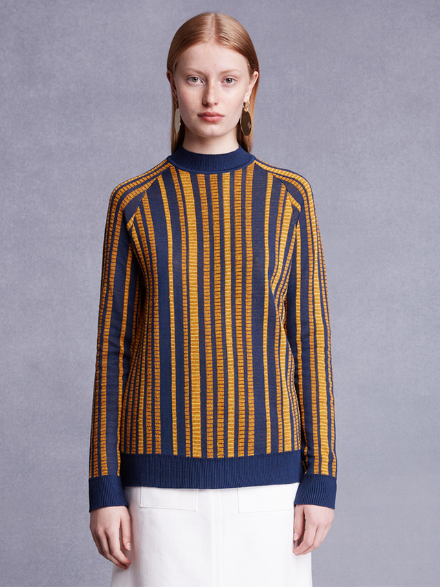 Trademark Ceramic Stripe Sweater