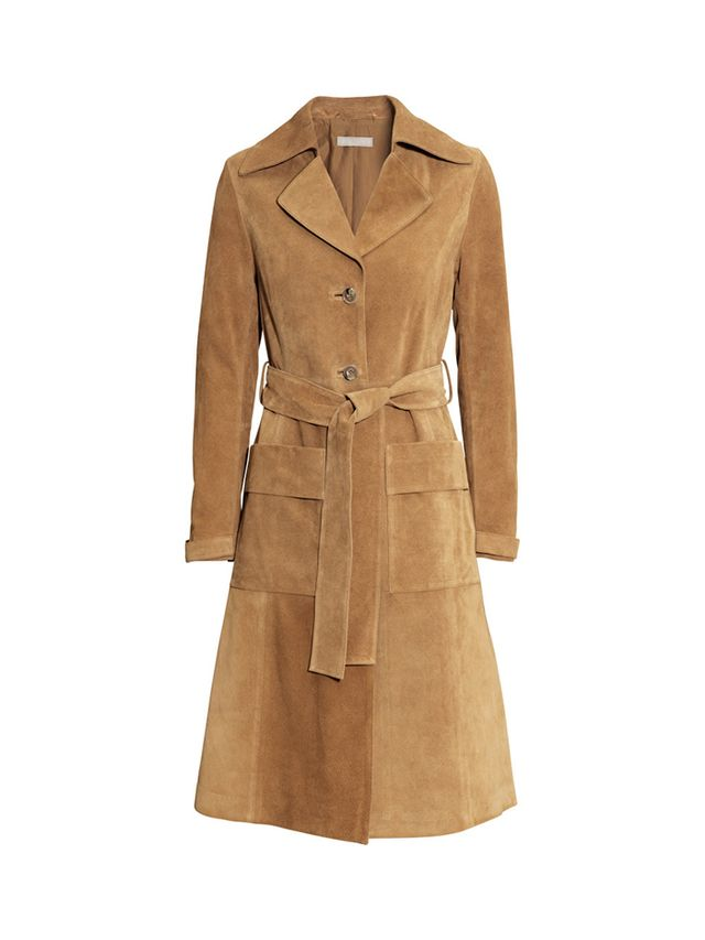 H&M Suede Coat
