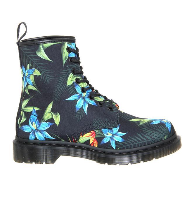 Dr. Martens Black Hawaiian Shoe