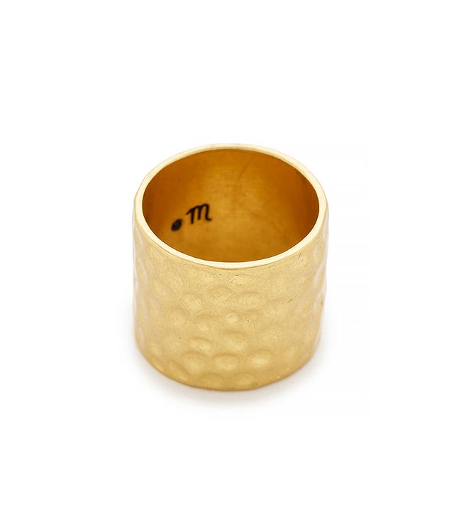 Madewell Drumline Band Ring