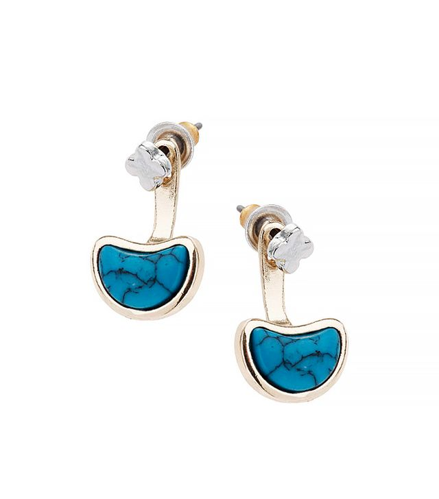 Topshop Front and Back Earrings