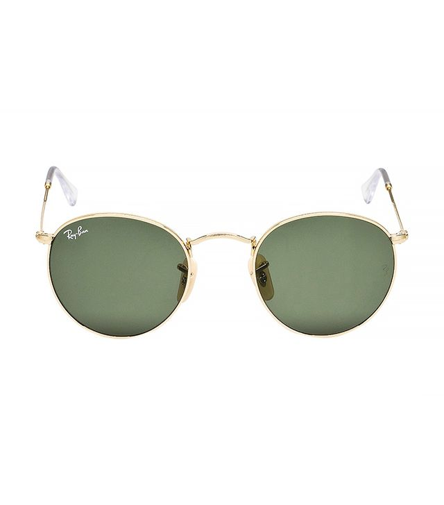 Ray Ban RB3447 Round Metal Sunglasses