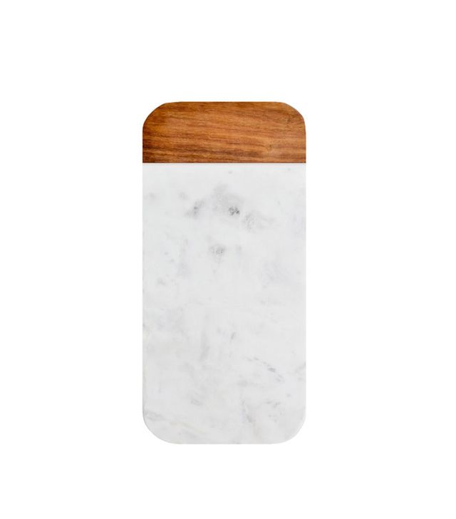 Leif Wood & Marble Cheese Board