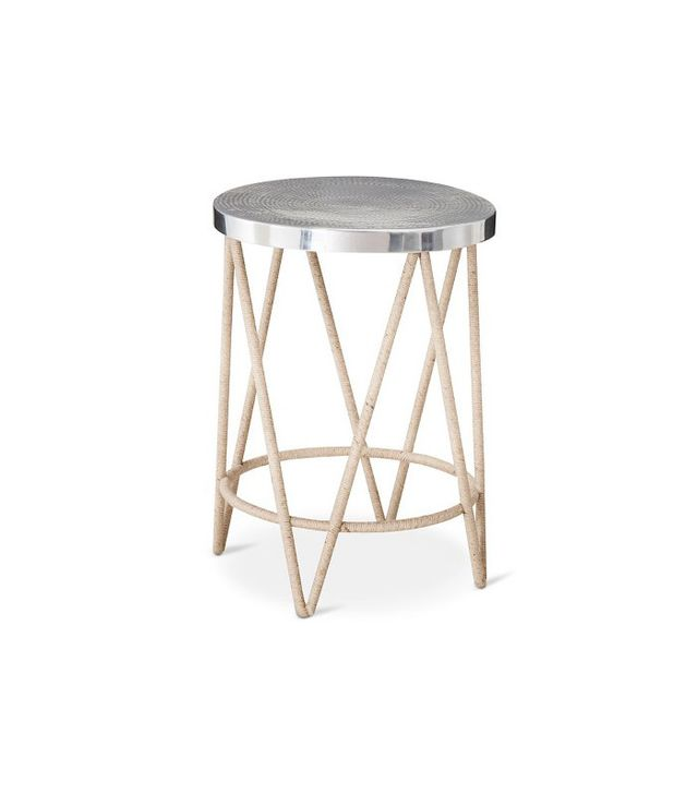 Threshold Rope Wrapped Accent Table